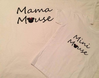 Mommy and Me Disney Shirts