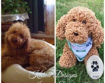 Miky the poodle, crochet dog, crochet amigurumi, handmade dog,crochet dog pattern, amigurumi pattern