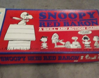 Snoopy Red Barron game 1970
