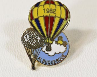 1982 Albuquerque International Balloon Fiesta Official 11th Event Pin