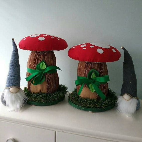 Like this item? & Mushroom Stools PAIR 2 Kids Room Troll House Fairy House islam-shia.org