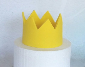 Where the Wild Things are inspired Fondant Crown Cake Topper