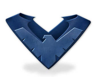 Nightwing Foam, Shoulder armor cosplay plate