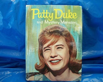 1964 Patty Duke and Mystery Mansion  TV tie-in Book