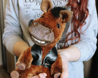 Happy Horse Chris teddy pony ooak