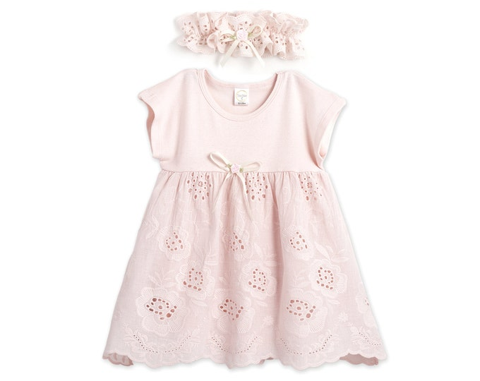 SUMMER SPECIAL! Baby Girl Lace Summer Dress, Baby Girl Summer Outfit, Lace Dress, Baby Girl Eyelet Dress Tesababe DH73EBHBFIP59EBHBFIP