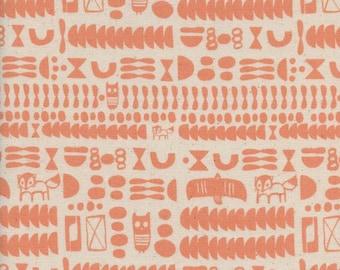 Charms Peach - Flower Shop by Cotton + Steel Cotton Fabric Fat Quarter