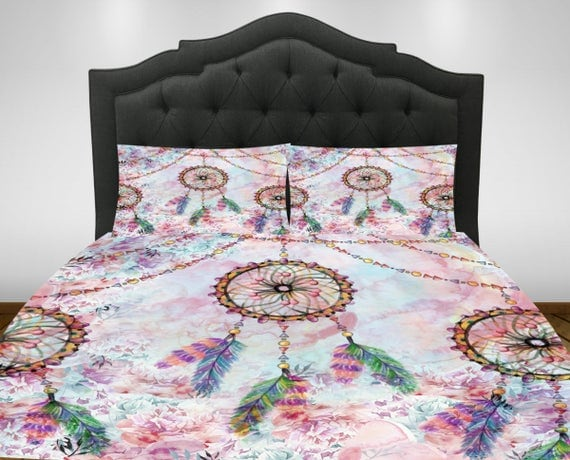 dream catcher comforter or duvet cover set twin full queen
