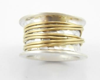 Gold Wired Meditation Ring