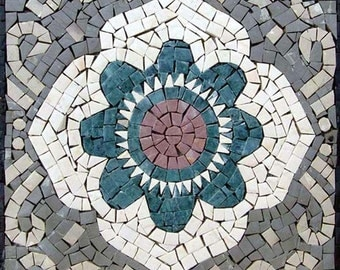 Square Art Tiles - Paradise Flower