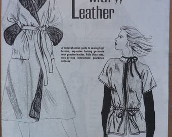 Sewing with Leather. Comprehensive guide to sewing with Leather