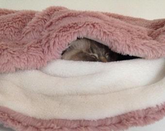 Luxury Snuggle sack, sleeping bag, pet, cat, dog, small animal
