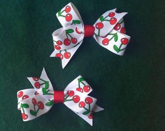 Cheery Cherries Tabi's Elegant Hair Pieces