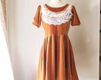 Velvet Prairie Girl Dress