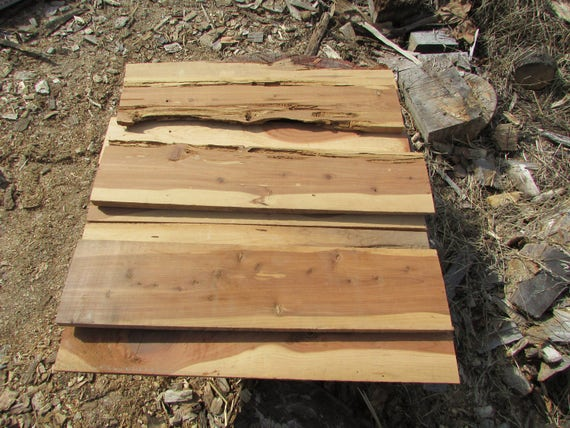 Reclaimed red cedar lumber from theloblollytradesman on
