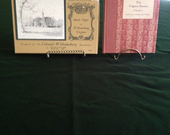 Williamsburg Virginia Books And Note Cards