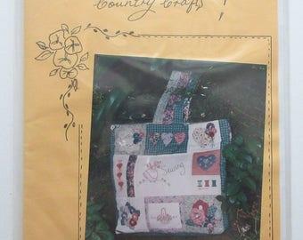 Tote Bag  Pattern -Sampler Sewing Bag - Australia Designed - PATTERN ONLY