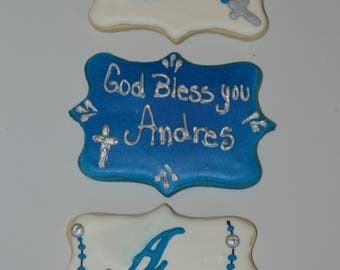Baptism, First Communion, Christening cookies