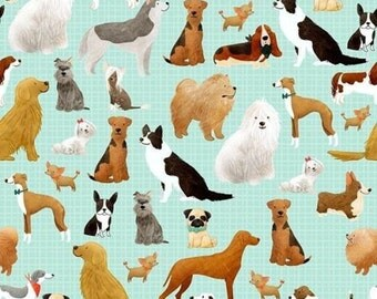 Dog Tissue Paper # 224 ..10 large sheets - Many Different Breeds