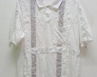 Vintage Issey Miyake Men polo shirt