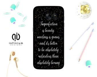 Imperfection Is Beauty, Case For Samsung J3, iPhone 7, 7 Plus, 6S, 6 Plus, 5S, SE, Samsung S8, S8 Plus, S7, S7 Edge, A3, A5 & Core Prime