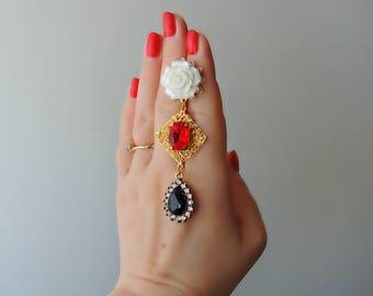 Earrings Dolce Gabbana style - Milena