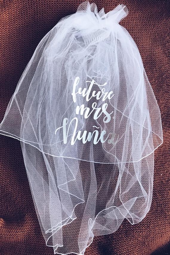 Custom Mini Veil | Custom Shoulder Length Veil