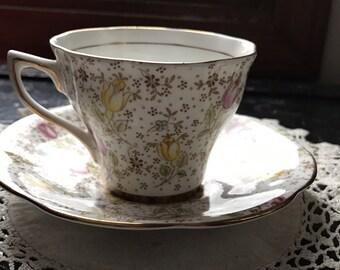 1950's Chintz Rosina Teacup and Saucer