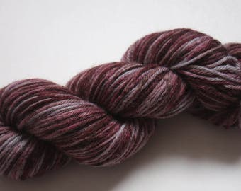 DK - 100% British Bluefaced Leicester (superwash) yarn - Silver for Damsons