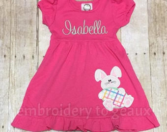 Easter Dress Toddler Girls, Easter Dress Girls, Girls Easter Outfit, Easter Bunny Dress, Easter Bunny Outfit, Girls Spring Dress