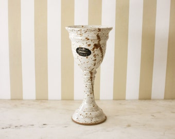 Mudflat Pottery Hand Thrown Studio Goblet