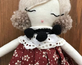 Rag doll- handmade doll- fashion doll