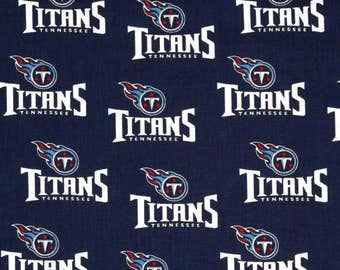 TN Titans Cotton FABRIC piece 60 X 36 inches