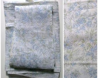 Vintage Kimono Fabric Hemp Yarn-Dyed Bamboo