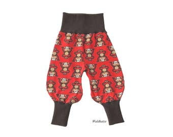 Red bloomers * monkey *-request size