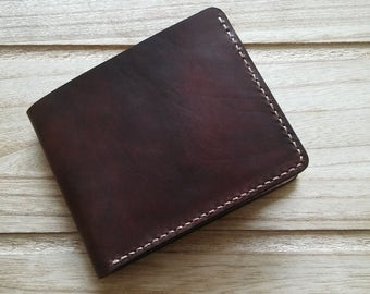 "Handmade Italian leather wallet ""Simple"""