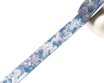 Beautiful blue washi tape