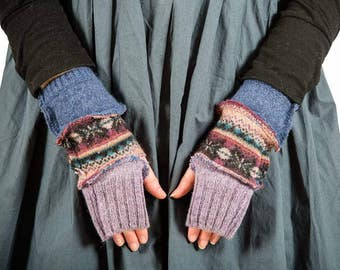 Milliefior For Disorder Hand knit Mittens