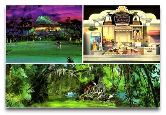 The Land Pavilion EPCOT Center Pre-Opening Postcard