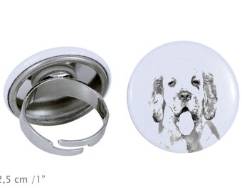 Ring with a dog - Clumber Spaniel