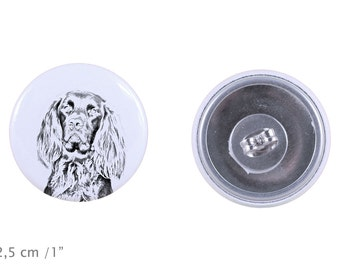 Earrings with a dog - German Longhaired Pointer