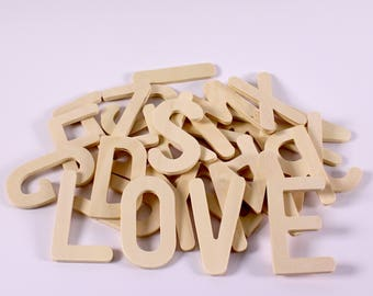 Wooden Uppercase Letter Stencils Large Letter Alphabet Templates Pack of 26