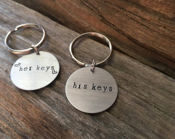 His and Her Keychains