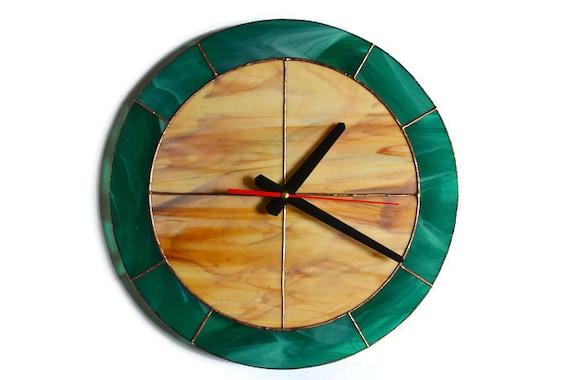 Large Wall Clock 14'' Modern Simple Design Rustic