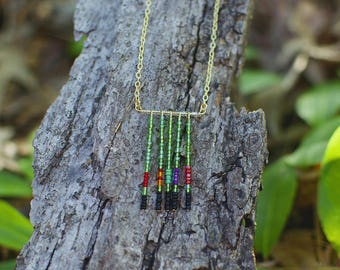 Southern Hummingbirds Necklace
