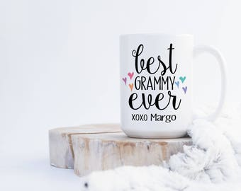 Best Grammy Ever  xoxo (any name) Coffee Mug
