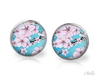 Earrings cherry blossoms 63
