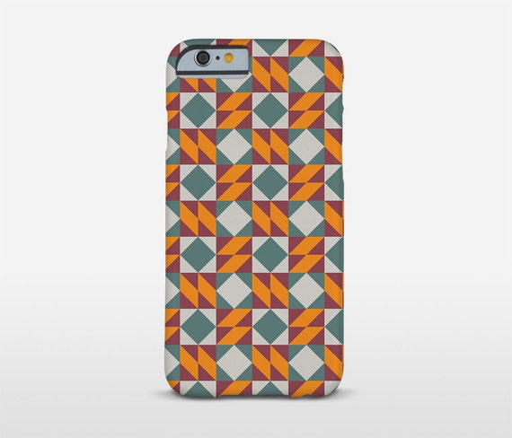 Modernist Phone Case, Geometric Design, iPhone Cases, Barcelona Tiles, Samsung Case, HTC Phone Case, Google Phones and more...