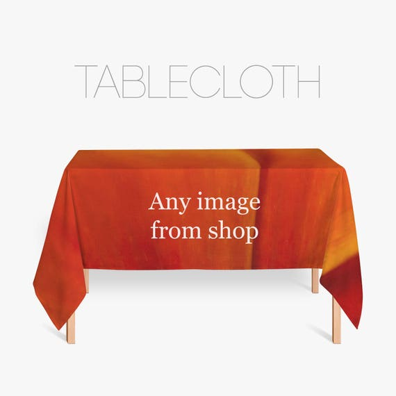 Tablecloth, Kitchen Decor, Home Decoration, Custom Kitchen. Choose Any Image From Our Shop