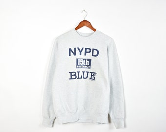 Vintage Grey 90's NYPD Blue Sweatshirt